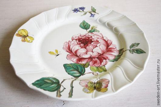 Винтажные предметы интерьера. Ярмарка Мастеров - ручная работа. Купить Villeroy & Boch - обеденные  тарелки (набор 4шт ). Handmade.