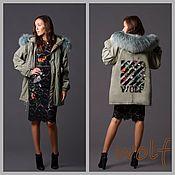 Одежда ручной работы. Ярмарка Мастеров - ручная работа Бомбер, парка, куртка. Handmade.