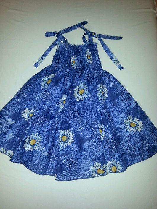 Одежда для девочек, ручной работы. Ярмарка Мастеров - ручная работа. Купить Сарафан для девочек     12. Handmade. Сарафан для девочек