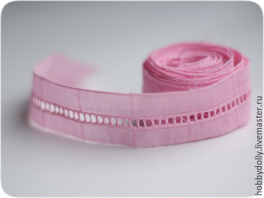 Шитье ручной работы. Ярмарка Мастеров - ручная работа. Купить Шитье хлопковое розовое. Handmade. Розовый, шитье, шитье хлопок