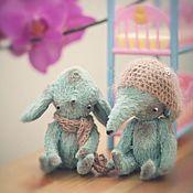 Куклы и игрушки ручной работы. Ярмарка Мастеров - ручная работа Морские собачки тедди. Handmade.