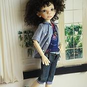 """Одежда для кукол ручной работы. Ярмарка Мастеров - ручная работа """"крутой"""" мальчишка 4. Handmade."""