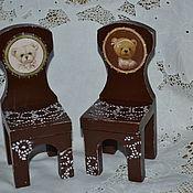 """Куклы и игрушки ручной работы. Ярмарка Мастеров - ручная работа Стульчики для принцев. Шоколадная коллекция """"Династия"""".. Handmade."""