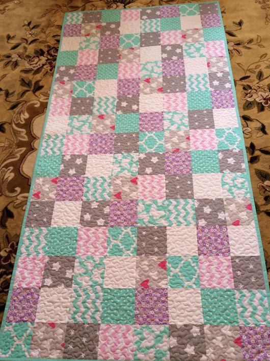 Детская ручной работы. Ярмарка Мастеров - ручная работа. Купить Покрывало одеяло лоскутное в детскую. Handmade. Покрывало, одеяло детское
