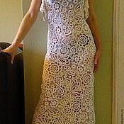 Одежда ручной работы. Ярмарка Мастеров - ручная работа Платье,вязаное крючком . Ирландское кружево ,вязание.. Handmade.