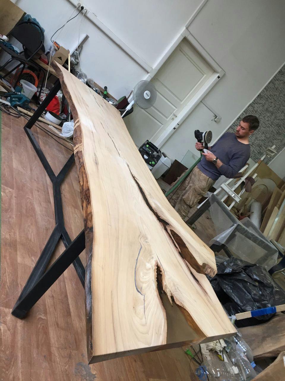 Мебель ручной работы. Ярмарка Мастеров - ручная работа. Купить Стол из массива. Handmade. Дизайн, стол, дизайн интерьера