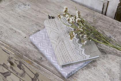 Блокноты ручной работы. Ярмарка Мастеров - ручная работа. Купить Блокнот одет в платок. Handmade. Бежевый, русский сувенир