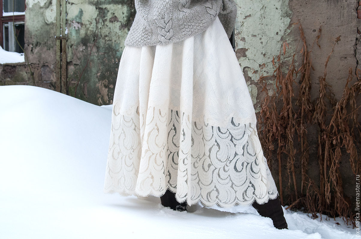 Felted skirt frost, Skirts, Moscow,  Фото №1
