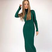 Одежда handmade. Livemaster - original item Emerald Dress. Handmade.