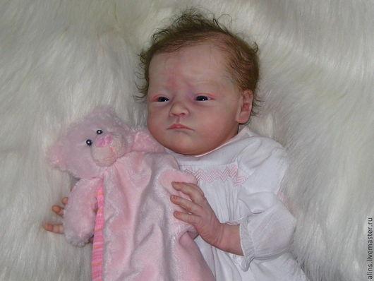 Куклы-младенцы и reborn ручной работы. Ярмарка Мастеров - ручная работа. Купить Малышка-реборн Will.. Handmade. Бежевый, мохер