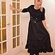 Платья ручной работы. Заказать платье комбинированное стиль бохо. творческая мастерская LUCKYSTYLE. Ярмарка Мастеров. Бохо-стиль, молния