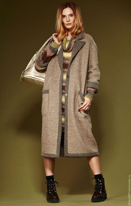 Верхняя одежда ручной работы. Ярмарка Мастеров - ручная работа. Купить Пальто классика длинное двустороннее.. Handmade. Пальто женское