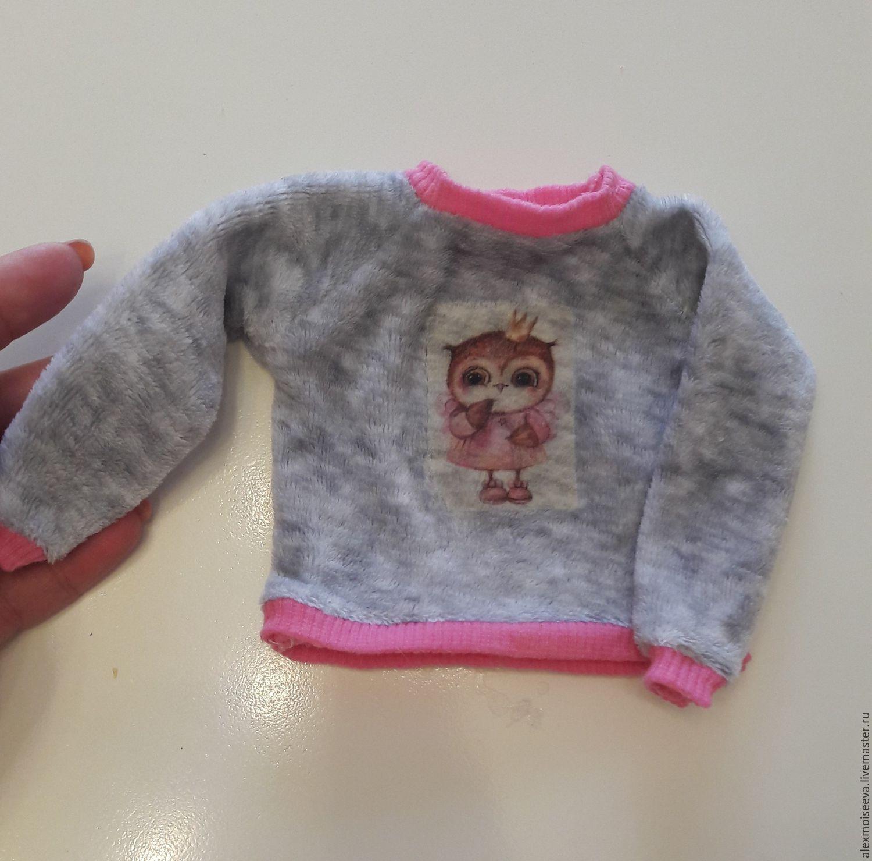 Сшить свитшот для куклы