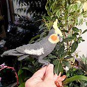 Куклы и игрушки ручной работы. Ярмарка Мастеров - ручная работа Попугай Корелла. Handmade.