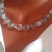Украшения handmade. Livemaster - original item Necklace: Iceberg. Handmade.