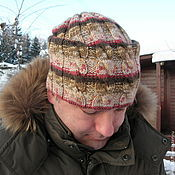 Аксессуары handmade. Livemaster - original item Men`s hat