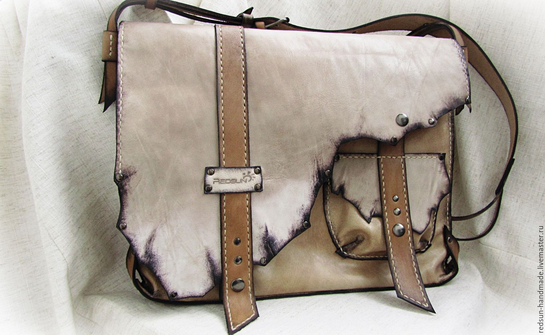 Женская кожаная сумка своими руками