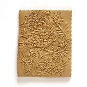 Для дома и интерьера handmade. Livemaster - original item bird Alkonost form for the gingerbread as a gift for birthday. Handmade.