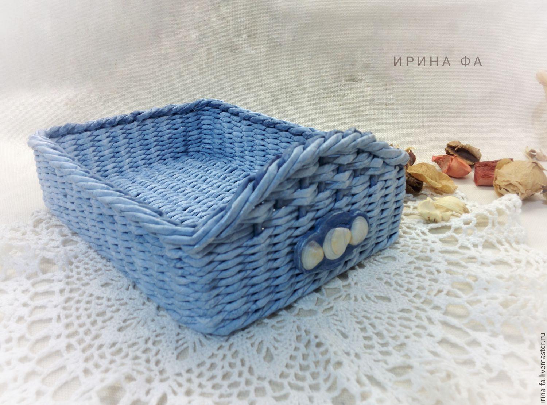 Basket C Decor Sea Shells Wicker Baskets My Livemaster
