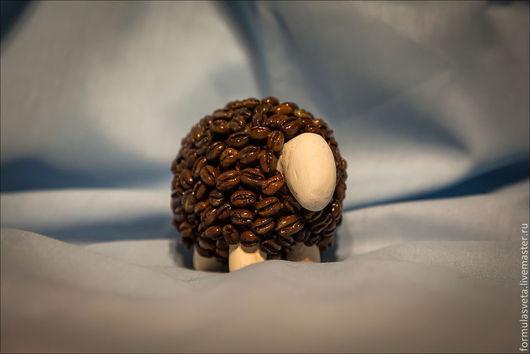 Статуэтки ручной работы. Ярмарка Мастеров - ручная работа. Купить Кофейный барашек. Handmade. Кофе, овца, кофейная овца, барашек