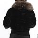 Верхняя одежда ручной работы. норковая шубка-курточка с чернобуркой. Оксана Донская (fashionfur-bg). Ярмарка Мастеров. Мех норки