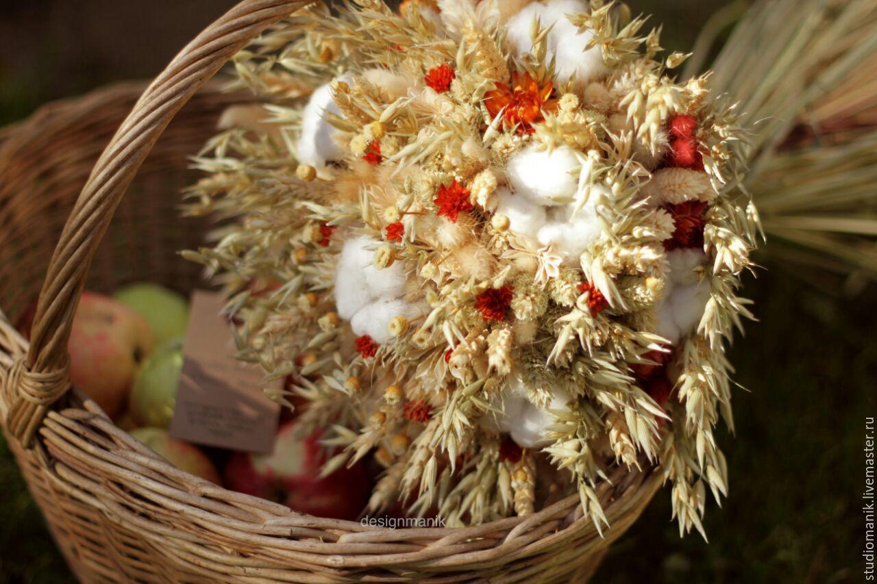 Букет из сухоцветов, Букеты, Москва, Фото №1