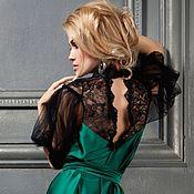 Одежда ручной работы. Ярмарка Мастеров - ручная работа Потрясающее  платье от кутюр. Handmade.