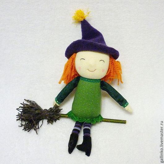 Сказочные персонажи ручной работы. Ярмарка Мастеров - ручная работа. Купить Милая ведьмочка. Handmade. Ведьма, колдунья, игровая кукла