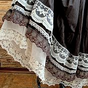Одежда ручной работы. Ярмарка Мастеров - ручная работа Длинная летняя юбка Бохо. Handmade.