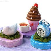 Куклы и игрушки ручной работы. Ярмарка Мастеров - ручная работа В духе Безумного чаепития кукольная миниатюра. Handmade.