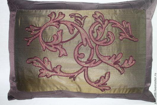 Текстиль, ковры ручной работы. Ярмарка Мастеров - ручная работа. Купить Декоративная наволочка. Handmade. Разноцветный, подарок, коллекционные ткани