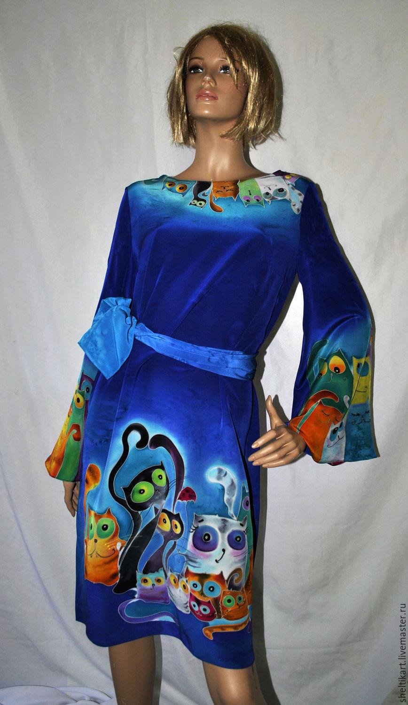 Туника платье шелковое доставка