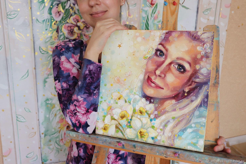 Волшебный портрет по фото на заказ, Картины, Минск,  Фото №1