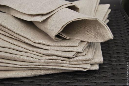 """Текстиль, ковры ручной работы. Ярмарка Мастеров - ручная работа. Купить Салфетки льняные """"Nature"""". Handmade. Серый, скатерть льняная"""