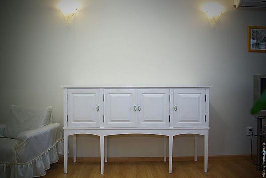 Мебель ручной работы. Ярмарка Мастеров - ручная работа. Купить Тумба-комод на сужающихся ножках. Handmade. Белый, ножки