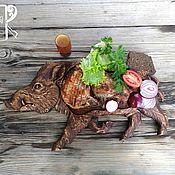 Посуда handmade. Livemaster - original item Board for serving kebab, meat dishes