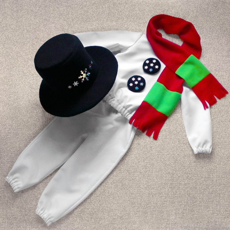 Снеговик костюм детский своими руками фото 964