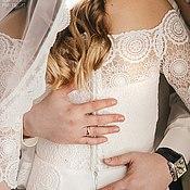 Свадебный салон ручной работы. Ярмарка Мастеров - ручная работа Свадебное платье для Анастасии. Handmade.