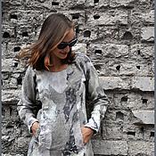 """Одежда ручной работы. Ярмарка Мастеров - ручная работа Платье-свитер """"Единение"""". Handmade."""