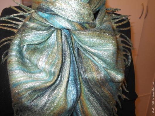 Шарфы и шарфики ручной работы. Ярмарка Мастеров - ручная работа. Купить МОДЕЛЬ № 36 Шарф Инна. Handmade. Разноцветный