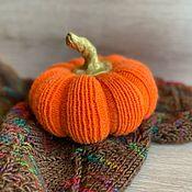 Для дома и интерьера handmade. Livemaster - original item Interior elements: knitted pumpkins. Handmade.