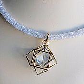 Necklace handmade. Livemaster - original item Necklace with crystal. Handmade.