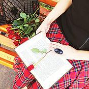 Одежда ручной работы. Ярмарка Мастеров - ручная работа Юбка солнце в шотландскую клетку.. Handmade.