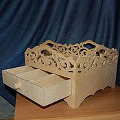 Материалы для творчества handmade. Livemaster - original item The table covers 272. Box for fruits and sweets. Handmade.