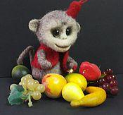 """Куклы и игрушки ручной работы. Ярмарка Мастеров - ручная работа Символ года 2016 обезьянка  """"Рики"""". Handmade."""