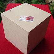 Материалы для творчества ручной работы. Ярмарка Мастеров - ручная работа Интерьерный куб - подставка. Handmade.