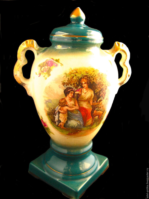 Винтаж: Старинная английская ваза с античным мотивом, , Карлстад, Фото №1