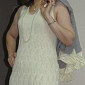 """Одежда ручной работы. Ярмарка Мастеров - ручная работа Вязаное платье """"Ажур"""". Handmade."""