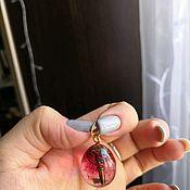 Кулон ручной работы. Ярмарка Мастеров - ручная работа Кулон с ключем. Handmade.