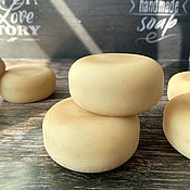 Косметика ручной работы handmade. Livemaster - original item Natural soap on melted cow`s milk with sour cream Ryazhenka. Handmade.